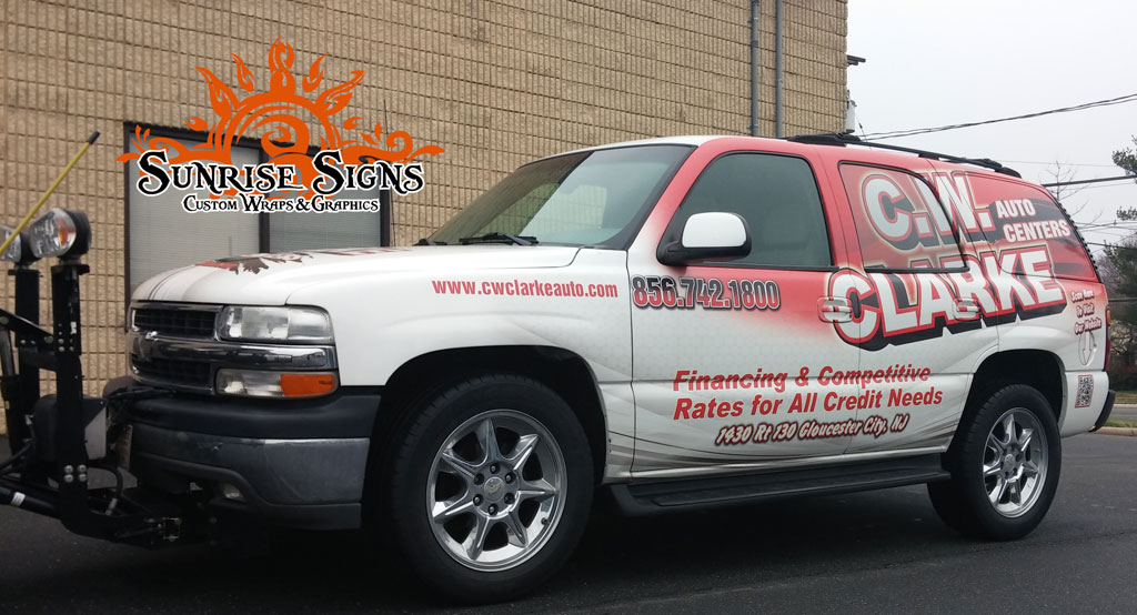 Auto dealership fleet wraps South Jersey