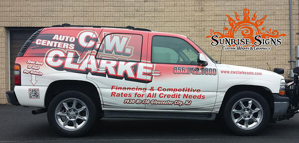 Fleet vehicle wraps for auto dealers Philadelphia