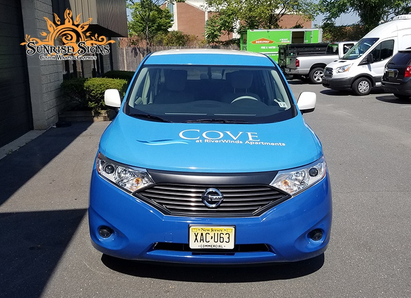 Van Wraps for Property Management Companies in South Jersey
