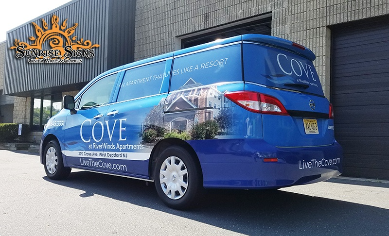 Property Management Van Wraps and Graphics South Jersey