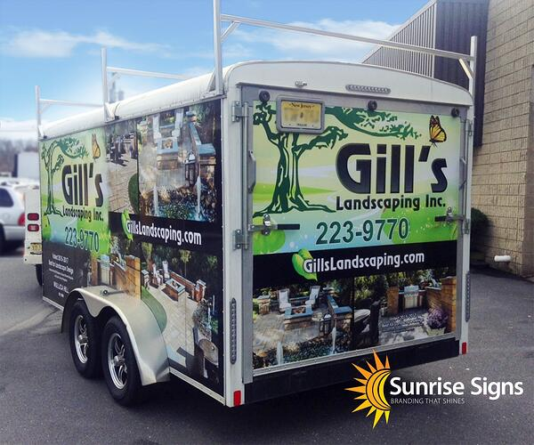 South Jersey Trailer Vehicle Wraps