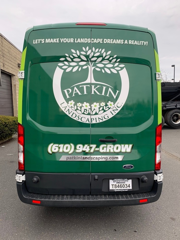 Landscaping Fleet Wraps