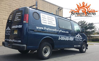 Chevy Express Van Graphics and Lettering Philadelphia