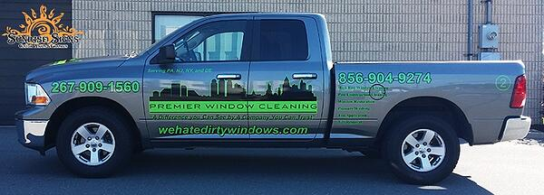 RAM 1500 Truck Graphics and Lettering Philadelphia