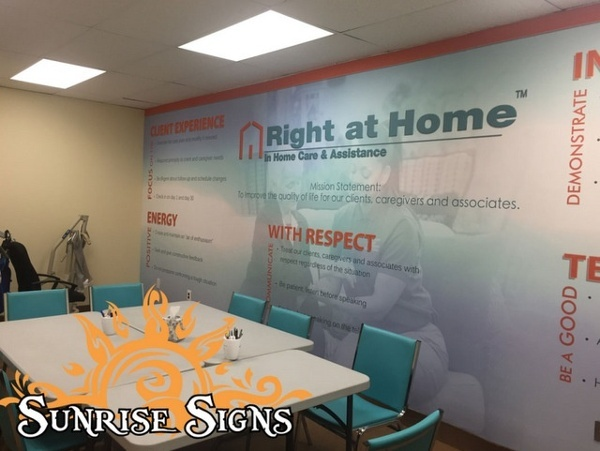 Corporate wall graphics Philadelphia