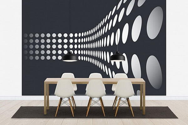 Wall Murals to Renovate a Corporate Space