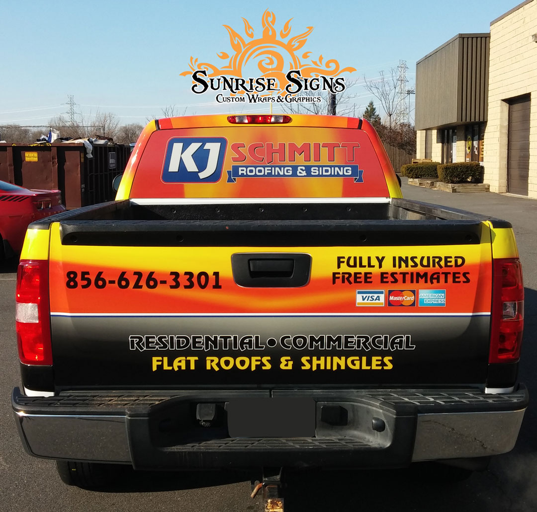 Images of Chevy Silverado Truck Graphics South Jersey
