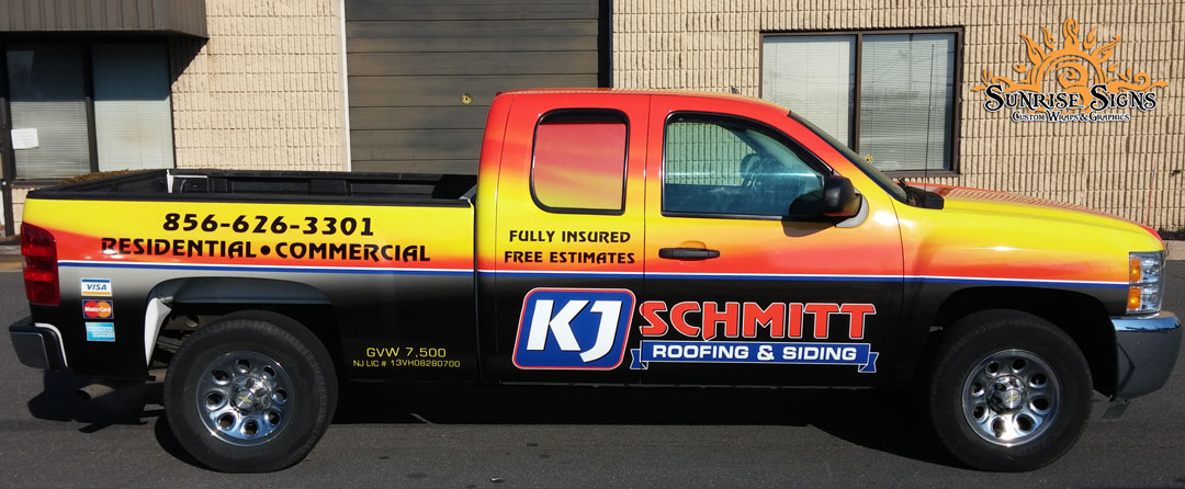 Chevy Silverado Truck Wraps South Jersey