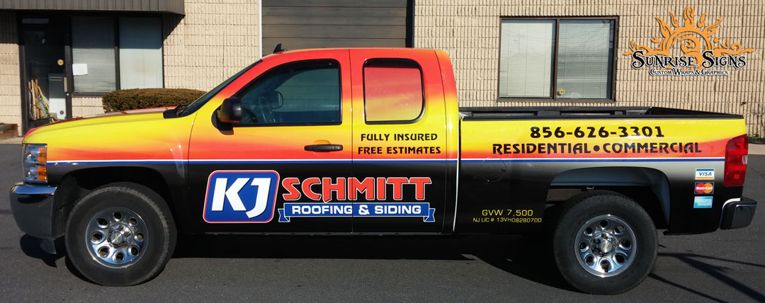 Buy the Best Contractor Truck Wraps in Pine Hill NJ