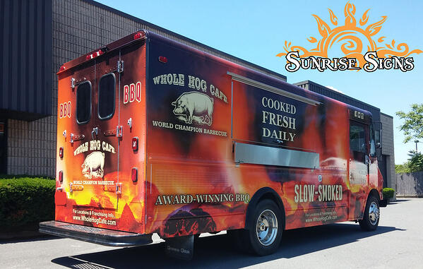 South Jersey Food Truck Wraps