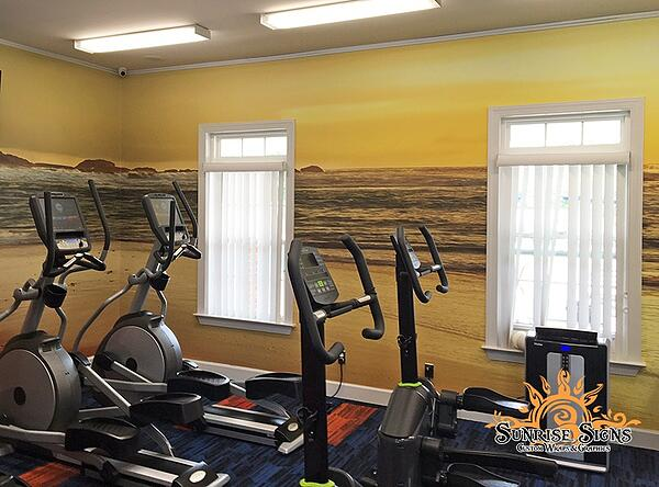 Wall Wraps for Fitness Centers in Newark NJ