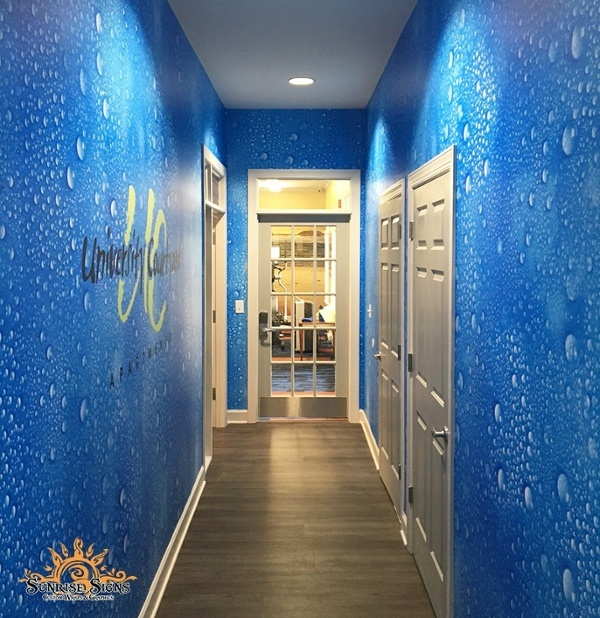 Corporate wall murals Philadelphia