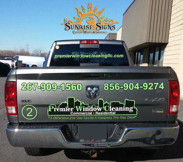 RAM 1500 Truck Graphics and Wraps South Jersey