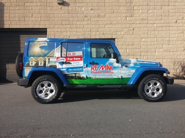Full Wrap Jeep Wrangler