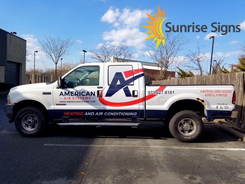 Cut Graphics and Lettering on Ford F-350