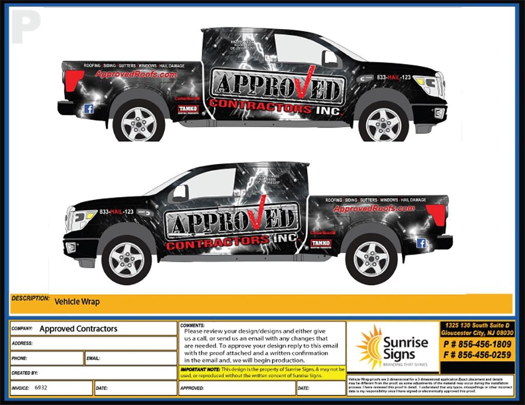 Philadelphia New Jersey Vehicle Wrap Design