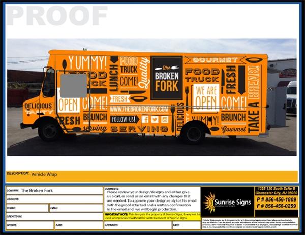 BROKEN FORK Food Truck