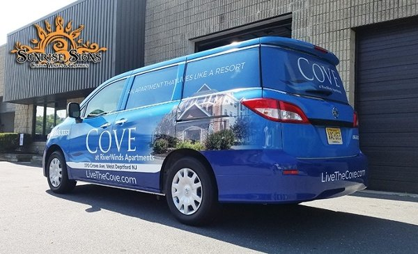 Cove_passenger van Full Wrap