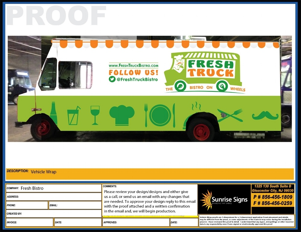 FRESH BISTRO Food Truck