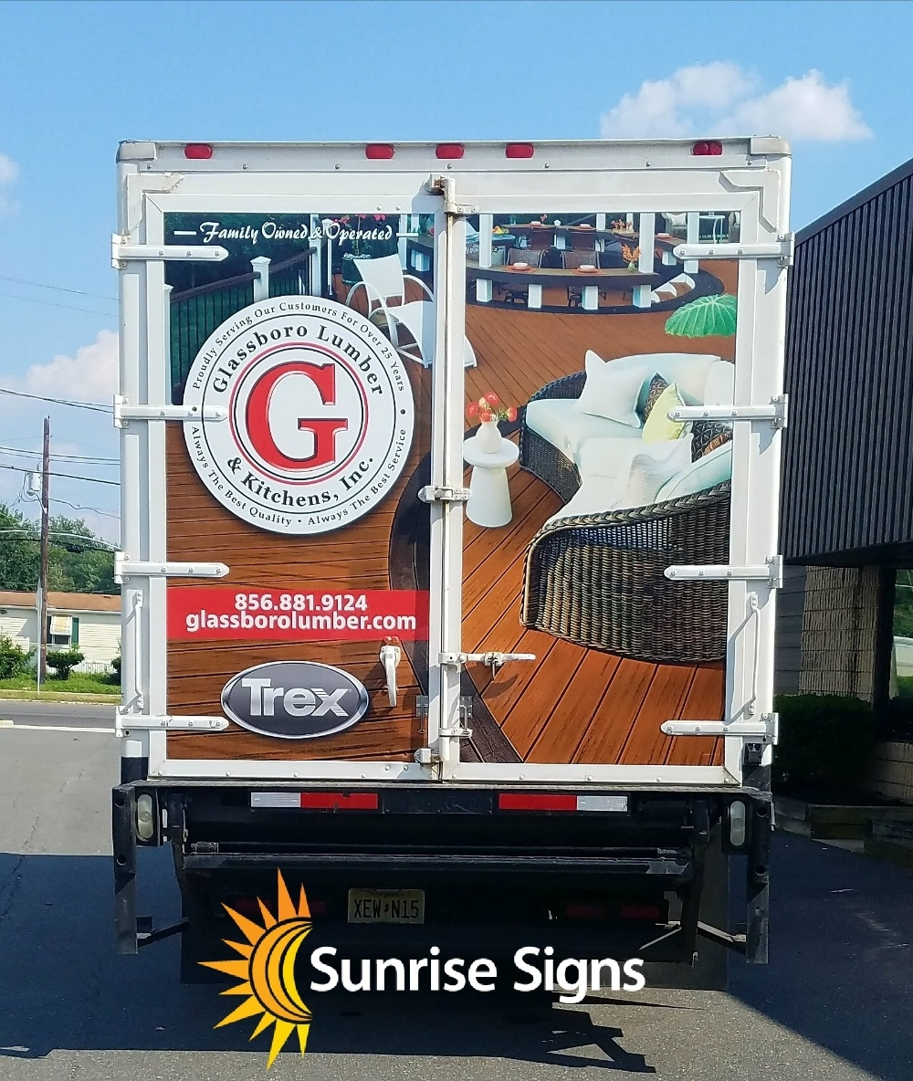 Box Truck Full Wrap