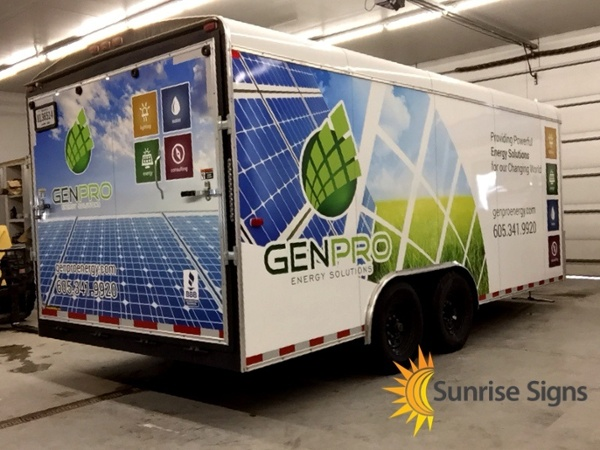 Genpro Trailer Full Wrap