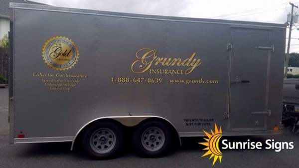 16' Trailer Cut Graphics