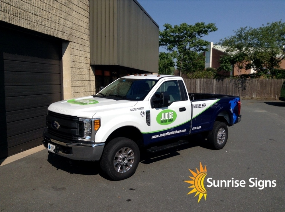 Partial Wrap on F-350