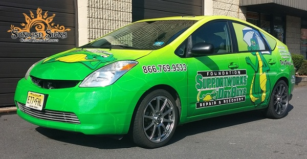 Car Graphics Amp Wraps Idea Gallery Sunrise Signs