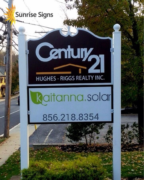 Outdoor Sign Refaced
