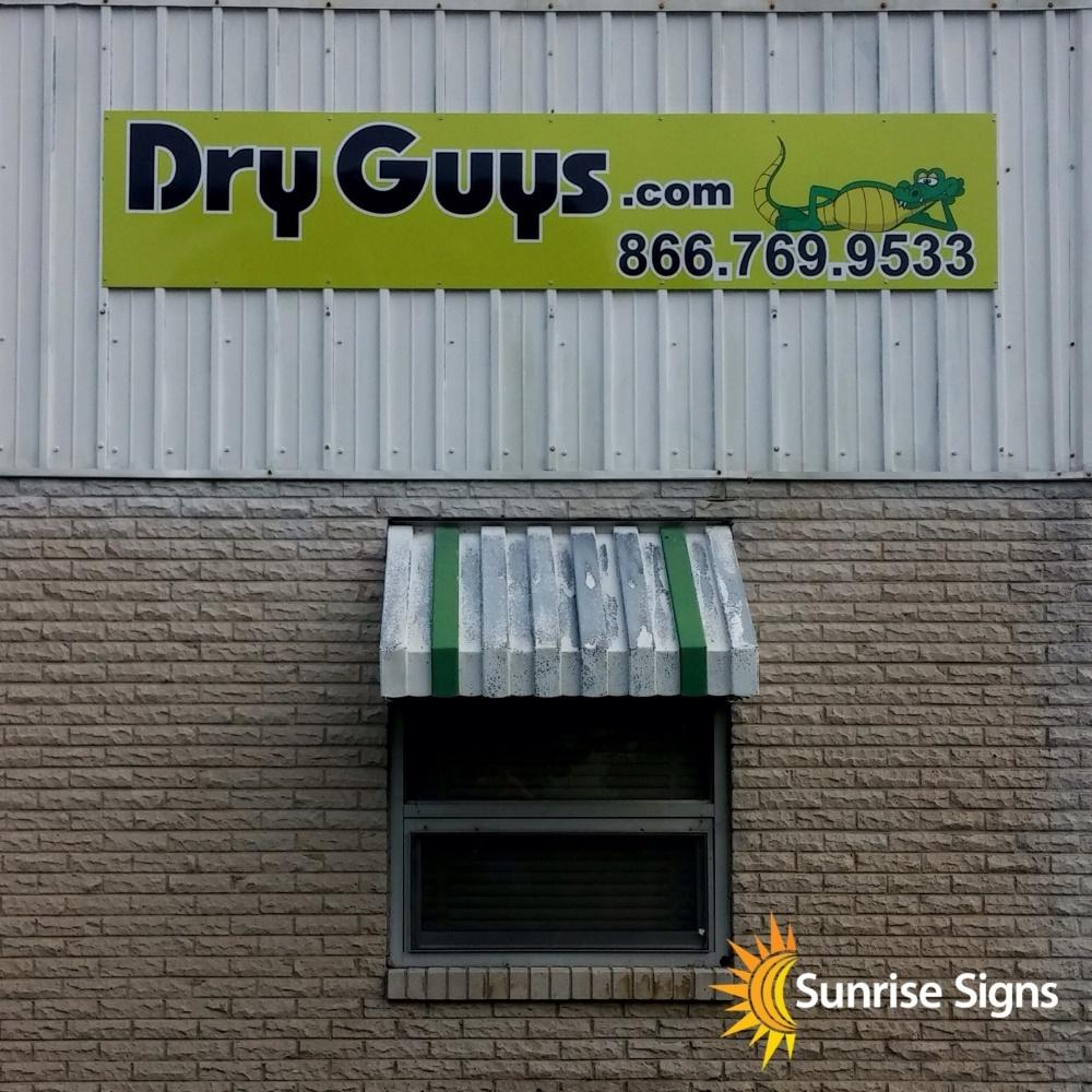 Aluminum Exterior Building Signage