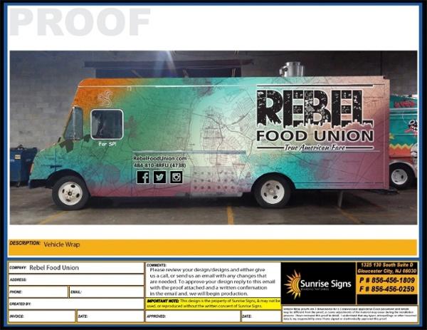 REBEL FOOD DRIVER
