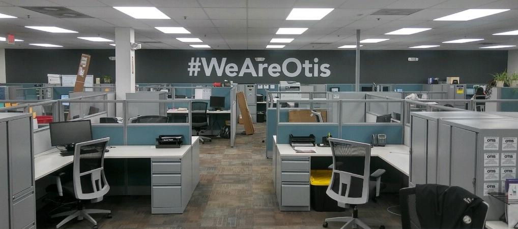 Philadelphia Office Graphics Lettering