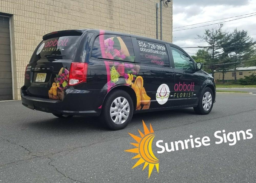 Abbott Florist Dodge Caravan 3/4 wrap