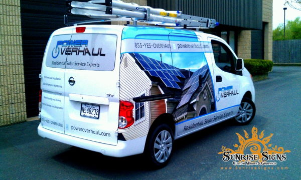 Have you including company name and log on your vehicle wraps?