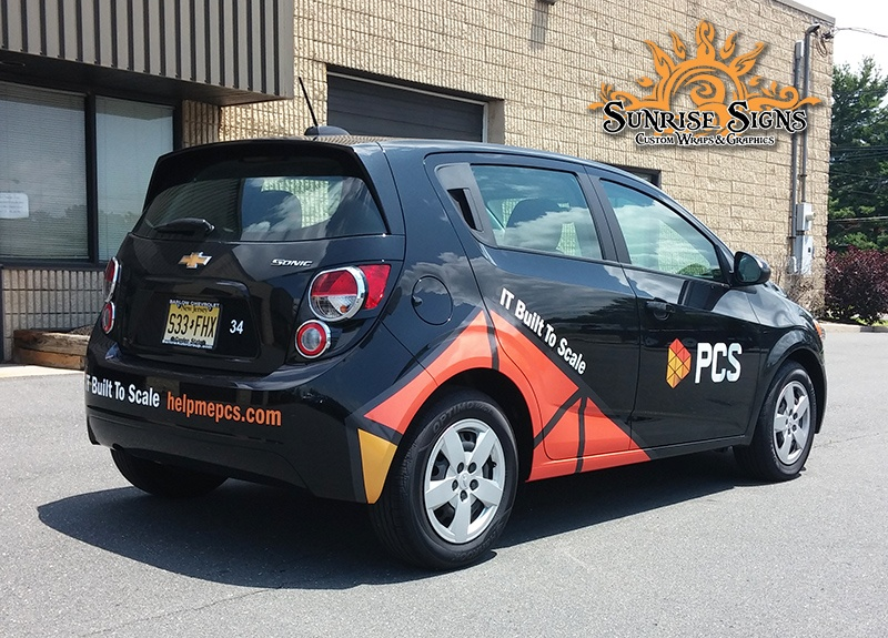 PCS Sonic Car Graphics
