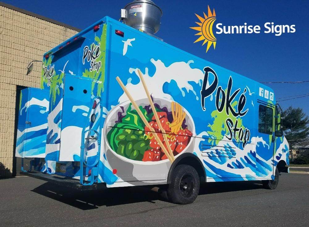 Food Truck Full Wrap